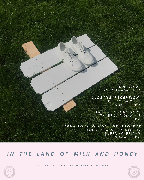 Artist Discussion for Häsler R. Gómez: In The Land of Milk and Honey