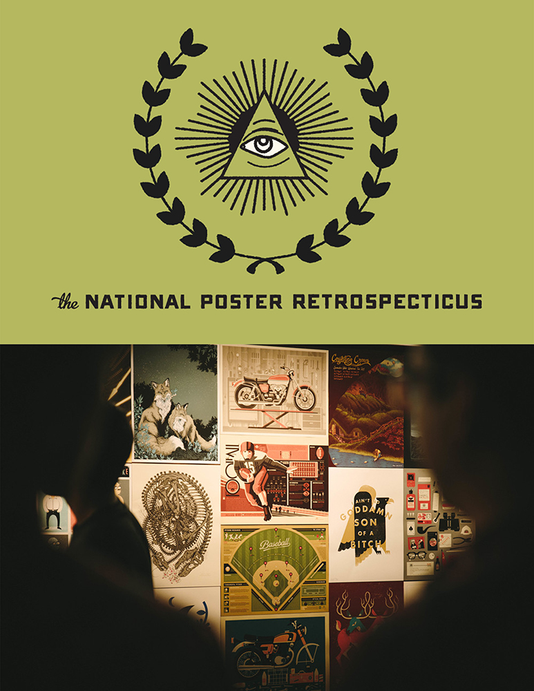 The National Poster Retrospecticus Pop-Up