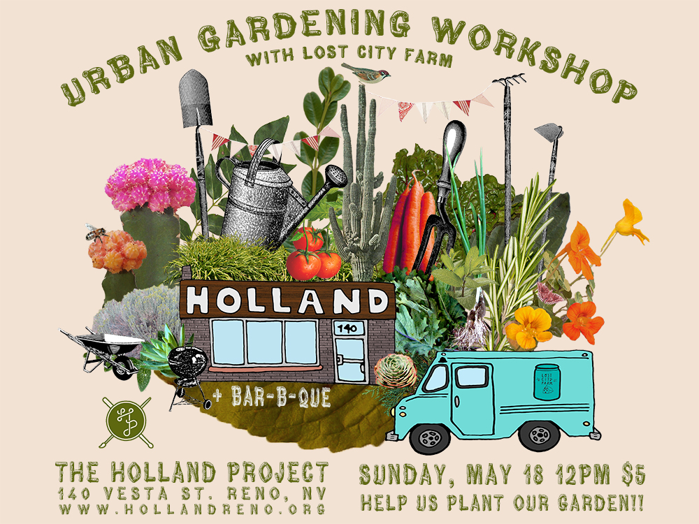Urban Gardening Workshop The Holland Project