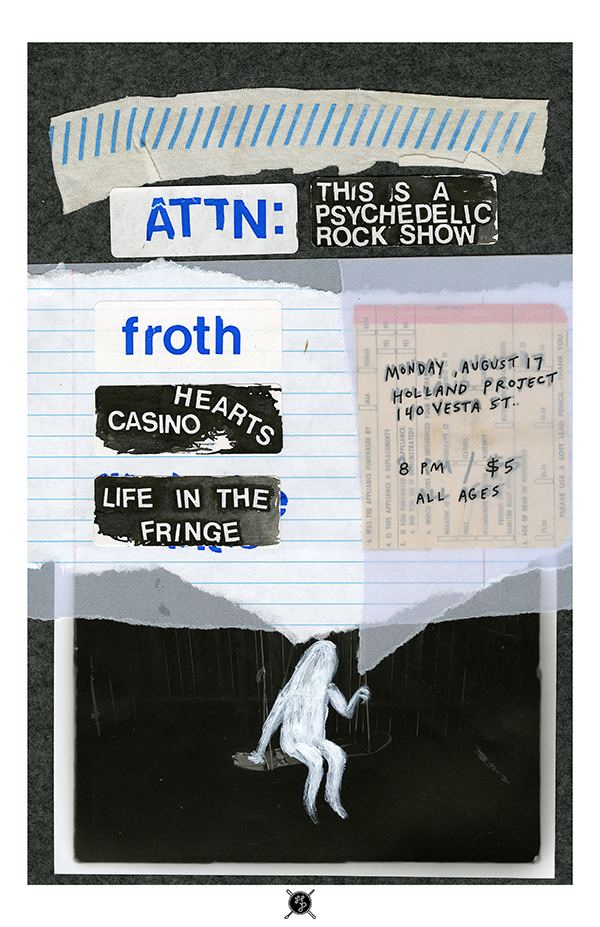 Froth, Casino Hearts, Life in the Fringe