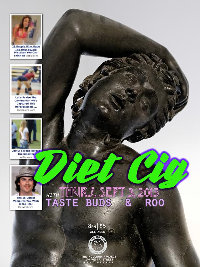 Diet Cig, Taste Buds, Roo