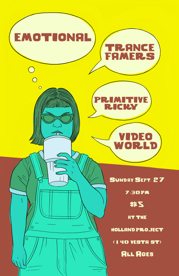 Emotional, Trance Farmers, Primitive Ricky, Video World