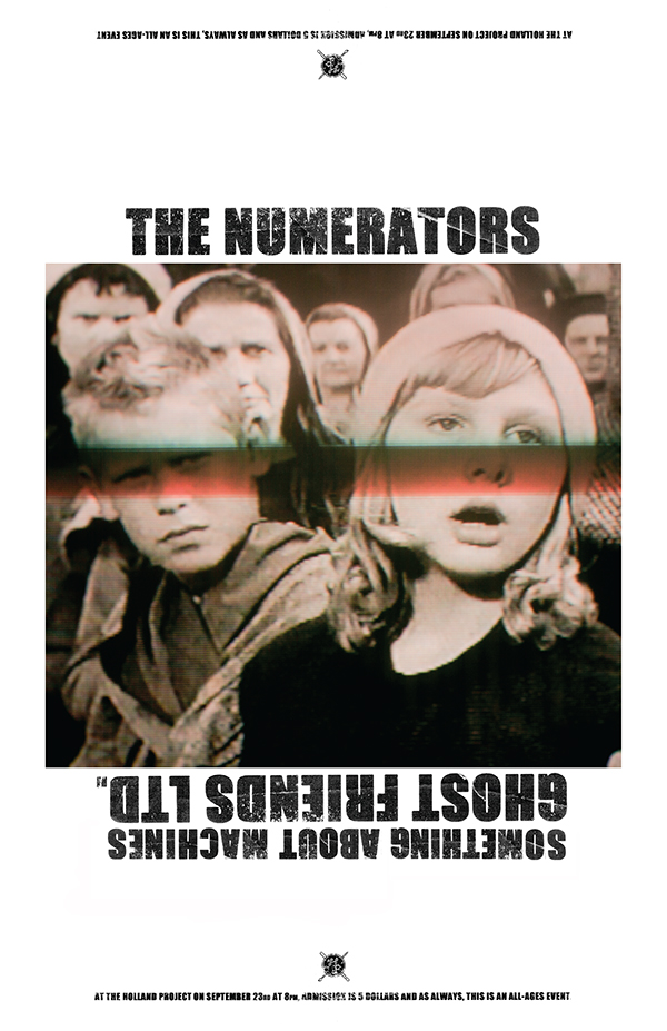 Numerators, Something About Machines, Ghost Friends. LTD