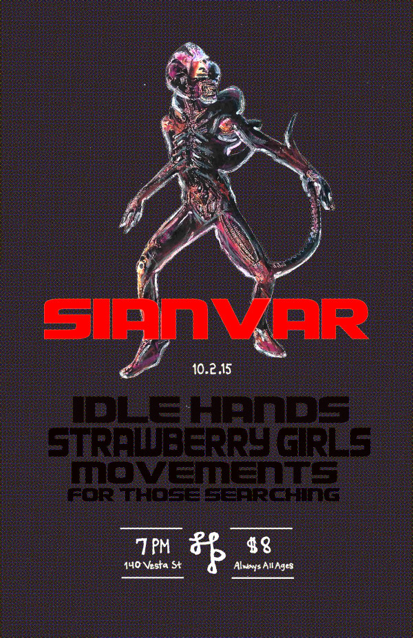 Sianvar, Idlehands, Strawberry Hands, Movements, For Those Searching