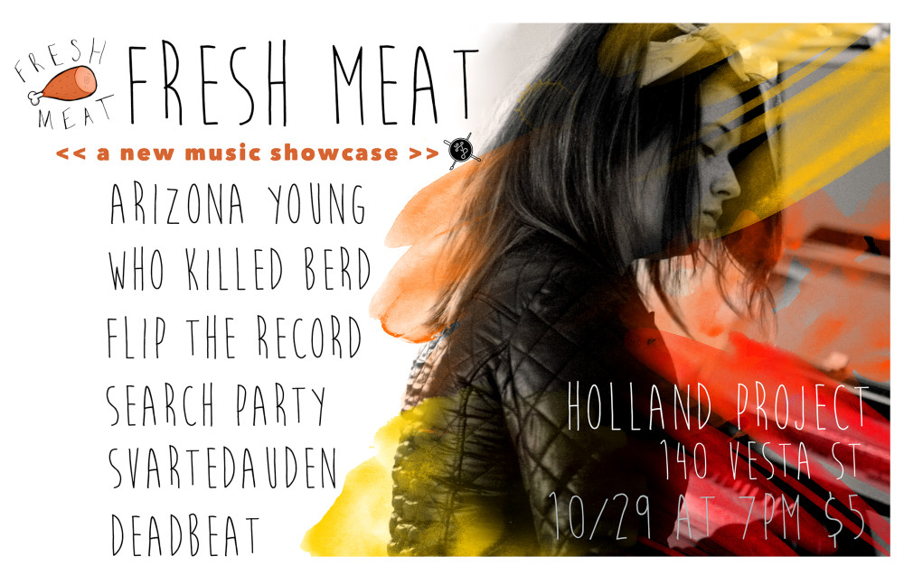 Fresh Meat – new music showcase