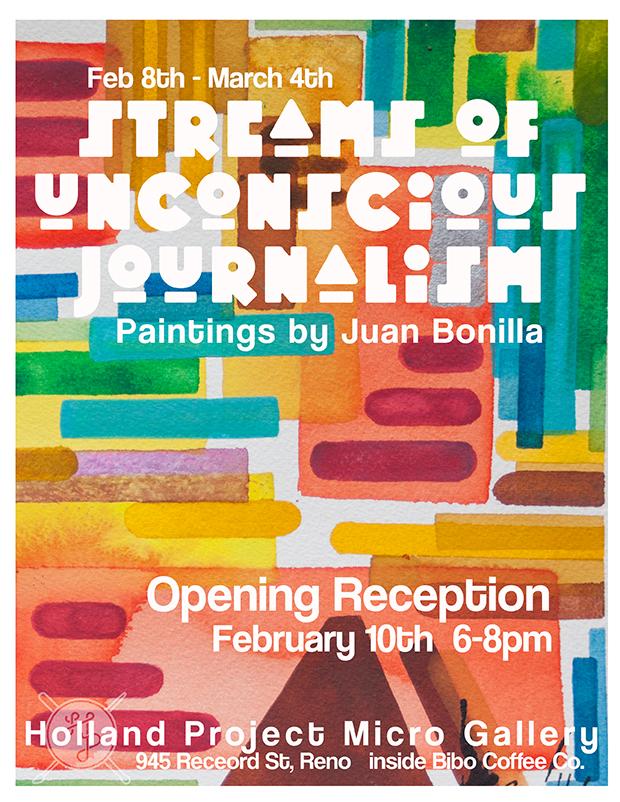 Juan Bonilla Opening Reception