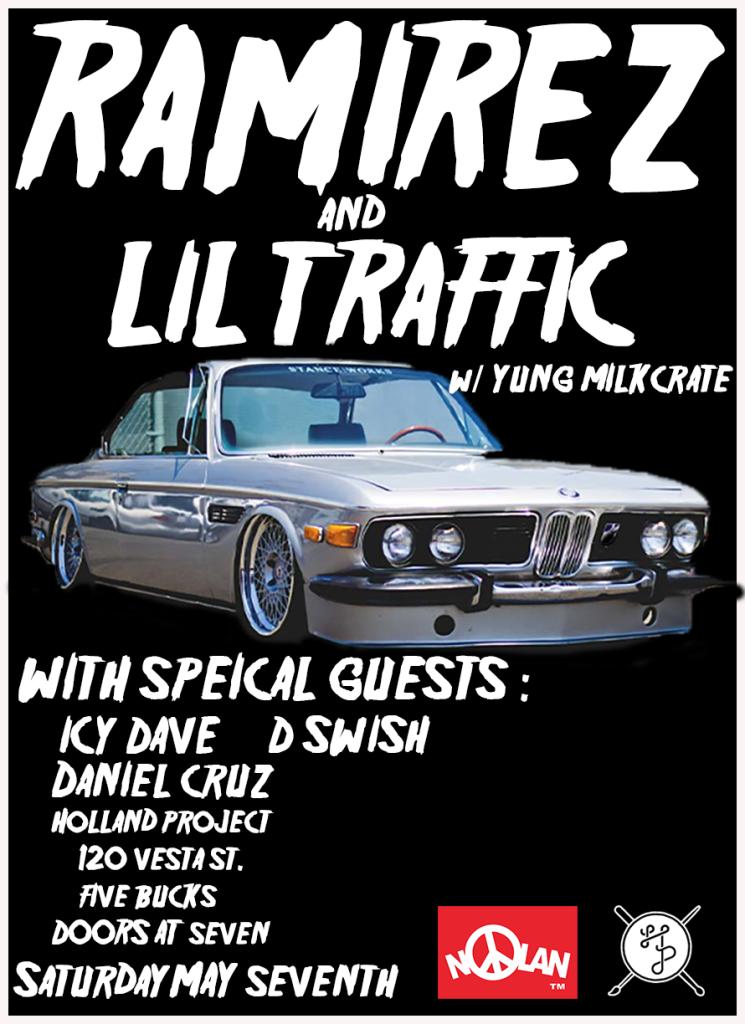 Lil Traffic, Yung Milkcrate, Josh Alexander, Icy Dave, Daniel Cruz, MC Lars, DSWISH