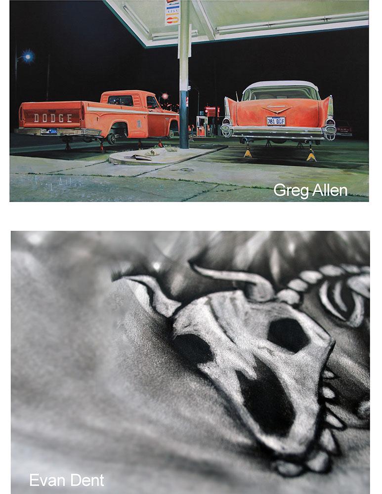 Greg Allen + Even Dent Opening Receptions