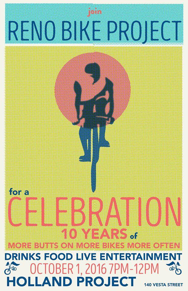 Reno Bike Project 10 Year Anniversary