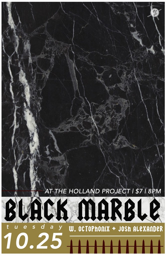 Black Marble, Octophonix, Josh Alexander
