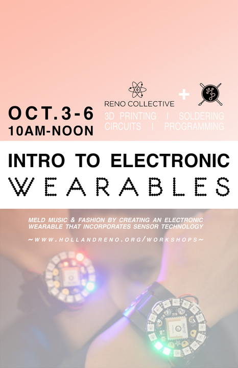 Intro to Wearable Electronics Camp!