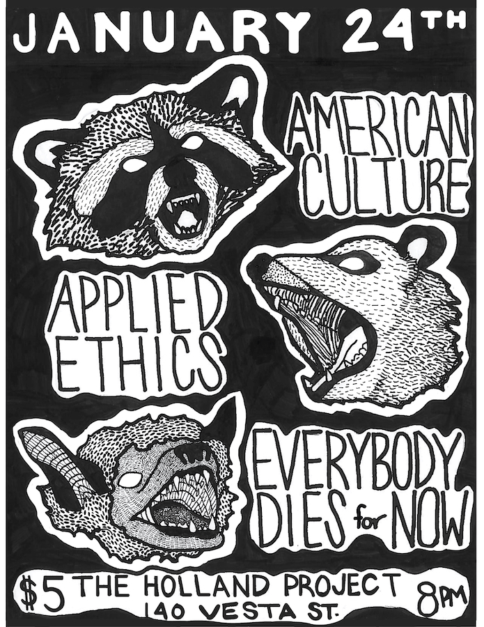 American Culture, Applied Ethics, Everybody Dies For Now