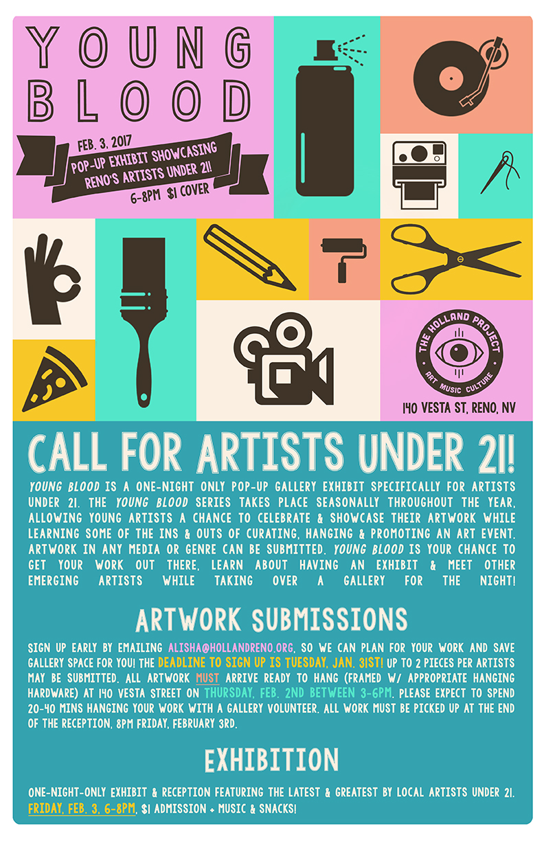 Call for Artists Under 21!