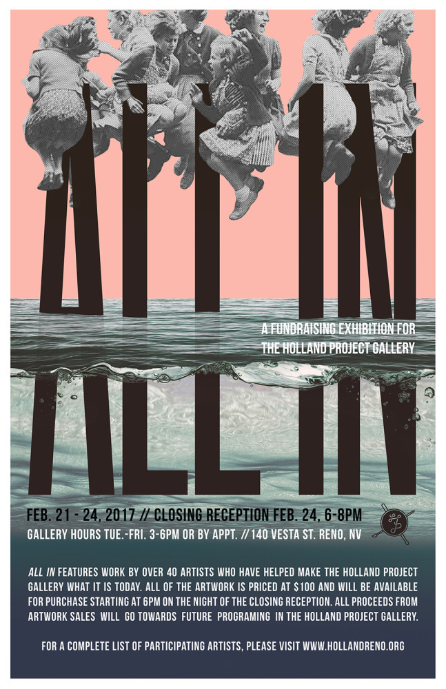 All In 2017 Poster 11x17