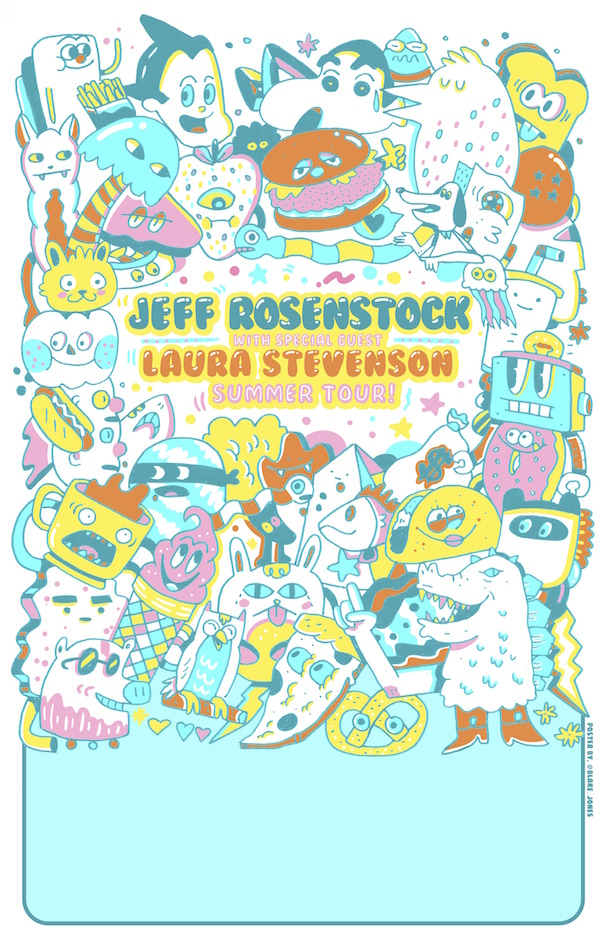 Jeff Rosenstock, Laura Stevenson, Dog Party, Rob Ford Explorer