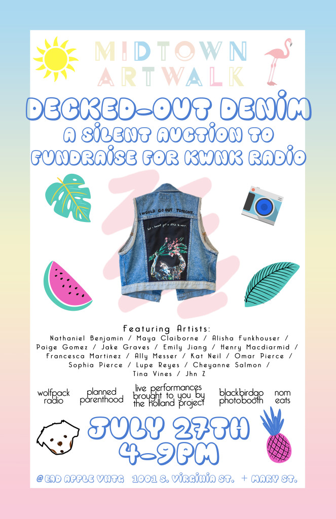 Decked-Out Denim: ArtWalk at Bad Apple VNTG