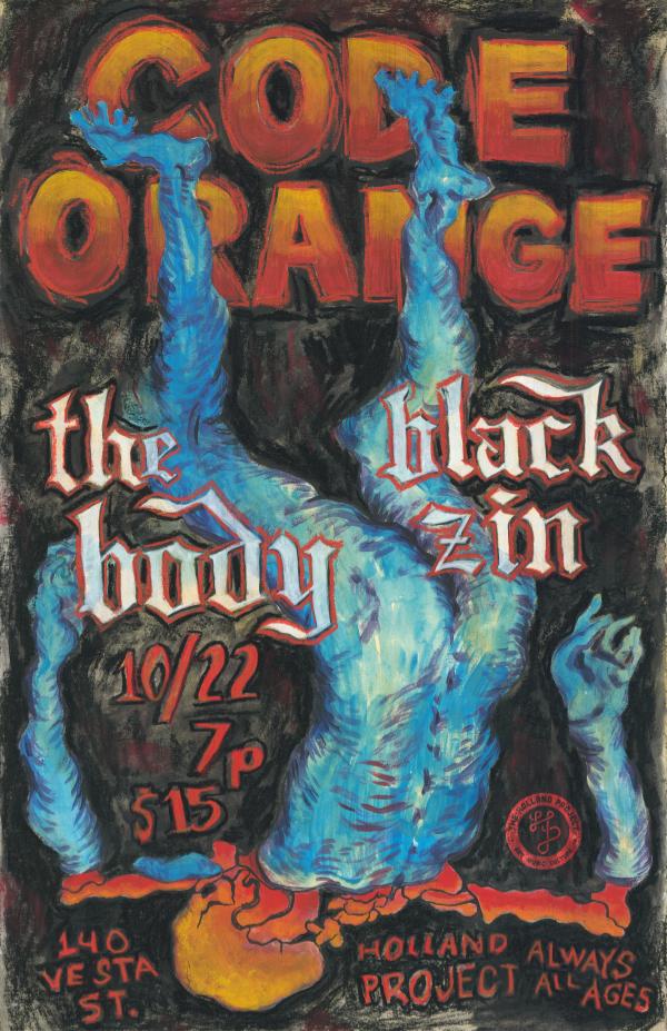 Code Orange, The Body, Black Zin