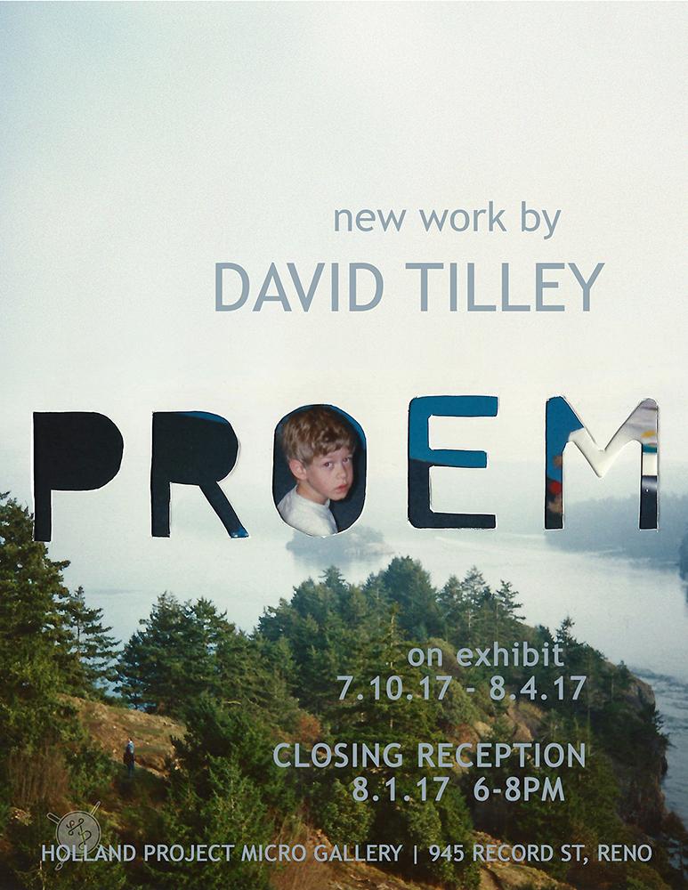 Closing Reception – David Tilley