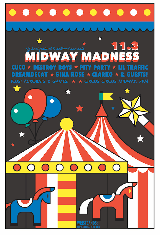 Off Beat: Midway Madness