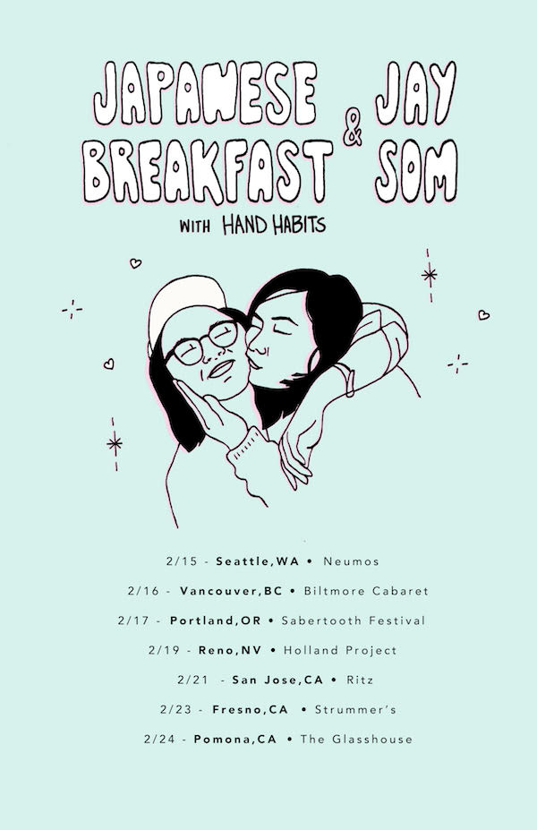 Japanese Breakfast, Jay Som, Hand Habits