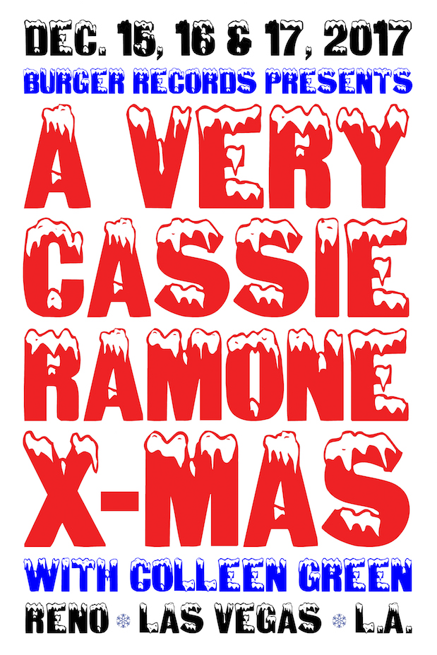A Very Cassie Ramone Xmas w/ Colleen Green, Stirr Lightly