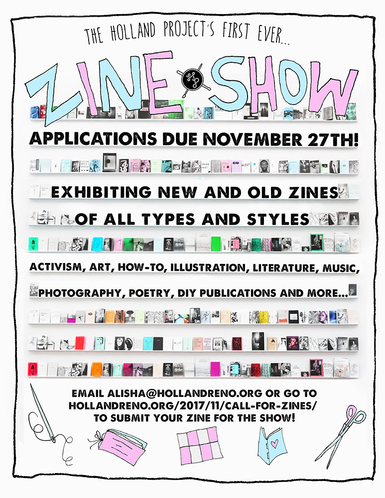 Call for Zines!!