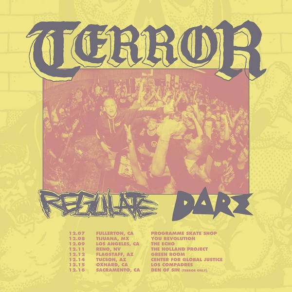 Terror, Regulate, Dare