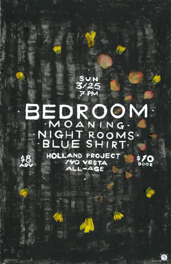 Bedroom (Noah Kittinger), Moaning, Night Rooms, Blue Shirt
