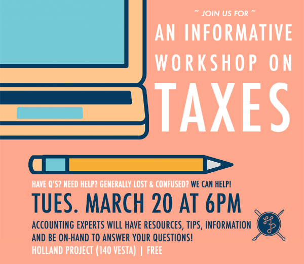 An Informative Workshop on Taxes