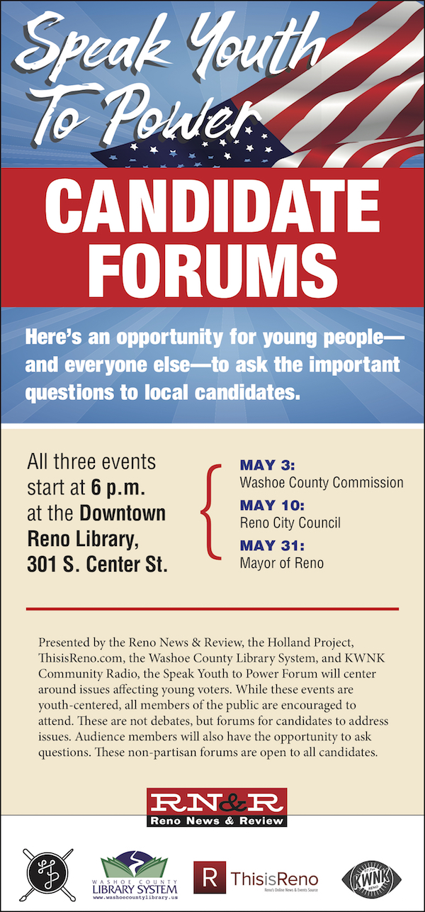 Speak Youth To Power – Candidate Forums