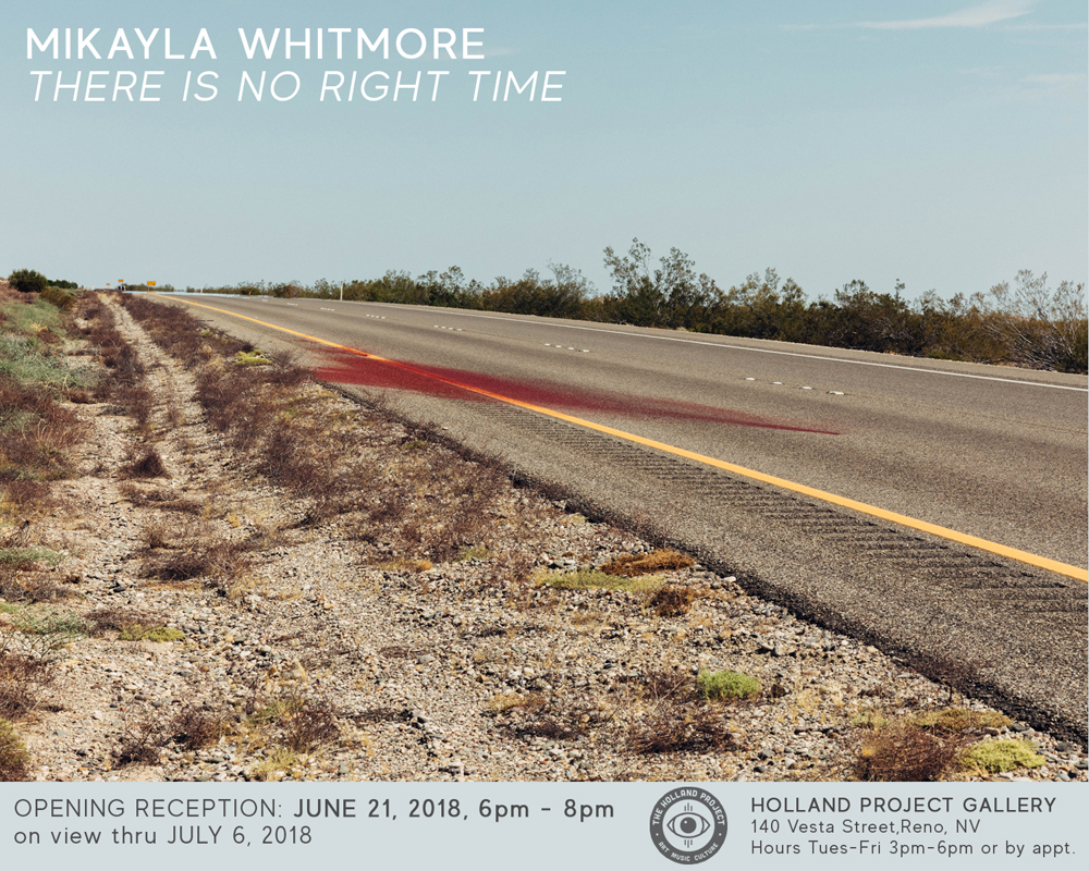 Opening Reception for Mikayla Whitmore: There is No Right Time