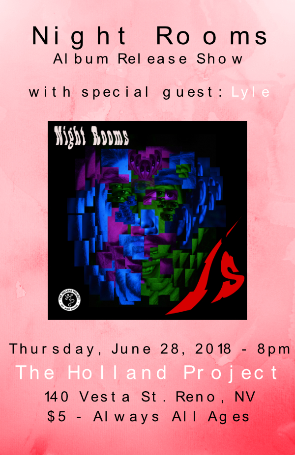 Night Rooms Album Release w/ Lyle
