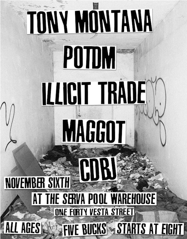 Tony Montana Potdm Illicit Trade Cdbj Maggot The Holland Project