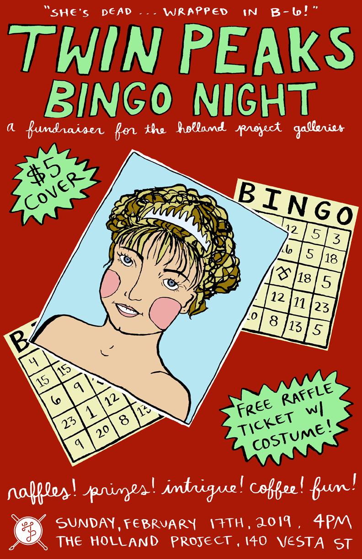 Twin Peaks Bingo Night!