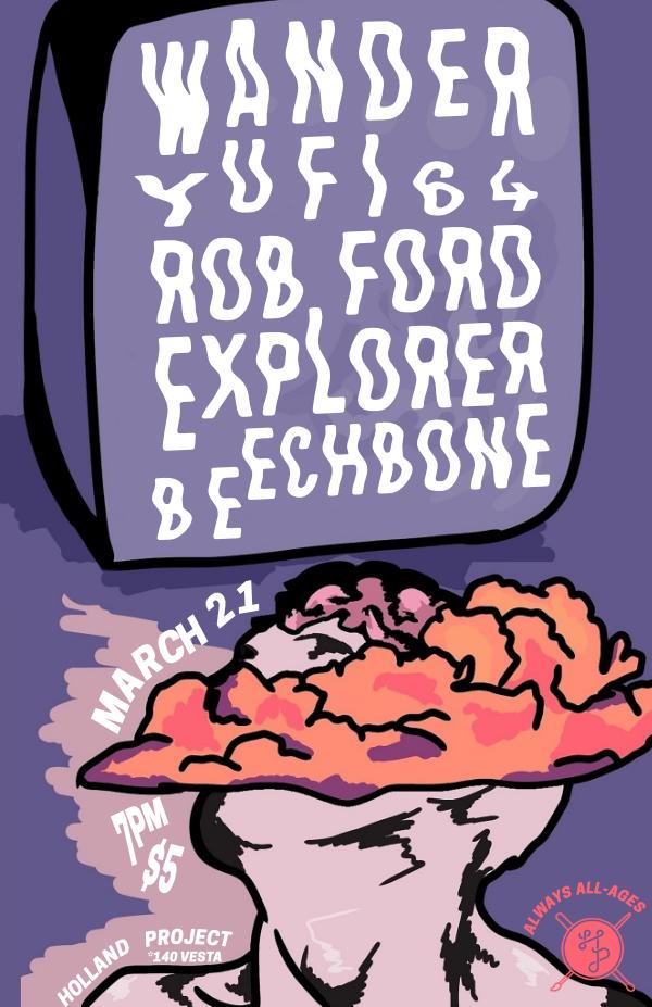 Wander, Yufi 64, Rob Ford Explorer, Beechbone