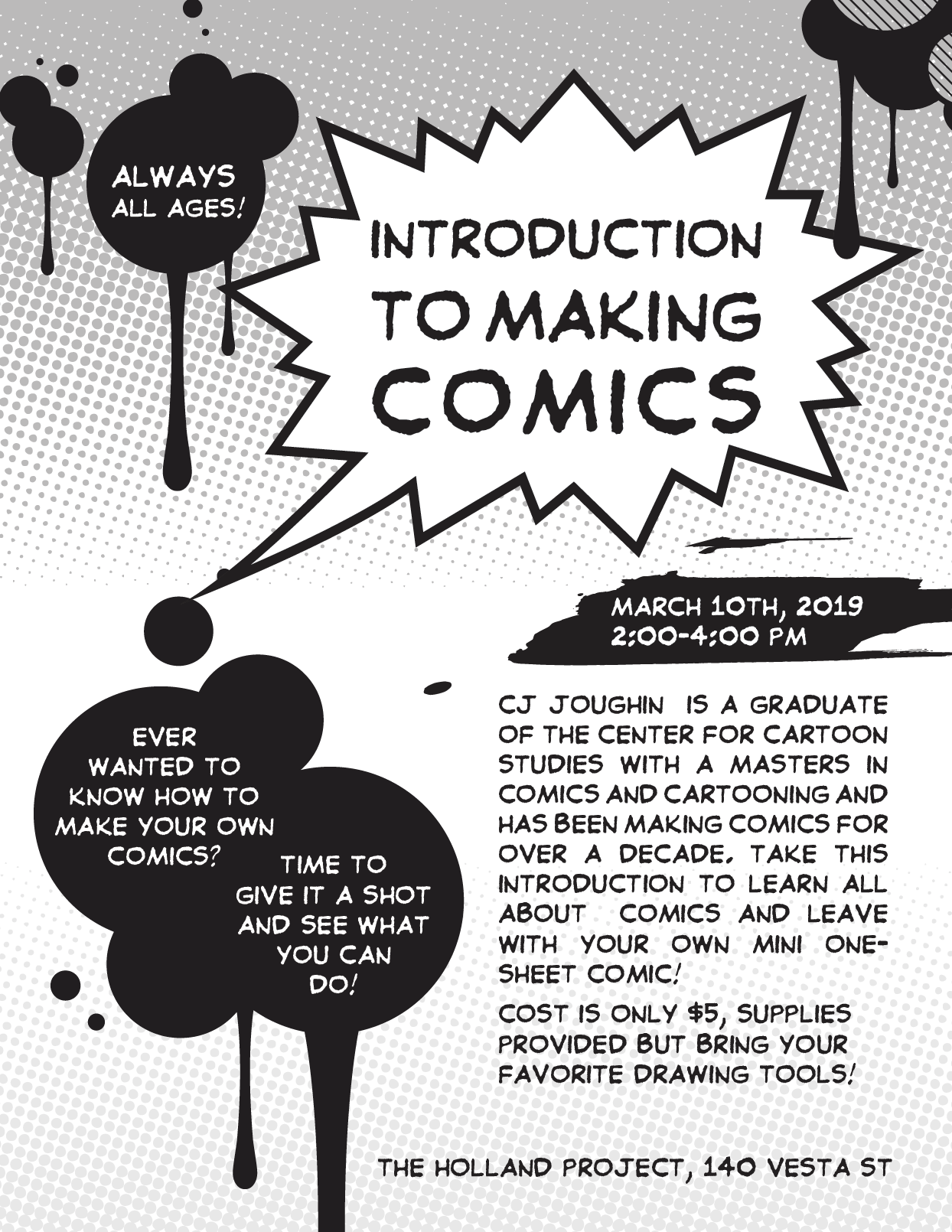 Intro to Making Comics