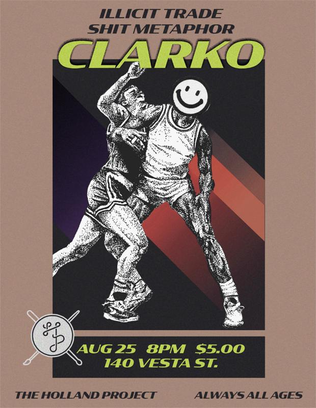 Clarko, Illicit Trade, Shit Metaphor