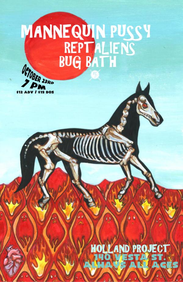 Mannequin Pussy, Reptaliens, Bug Bath