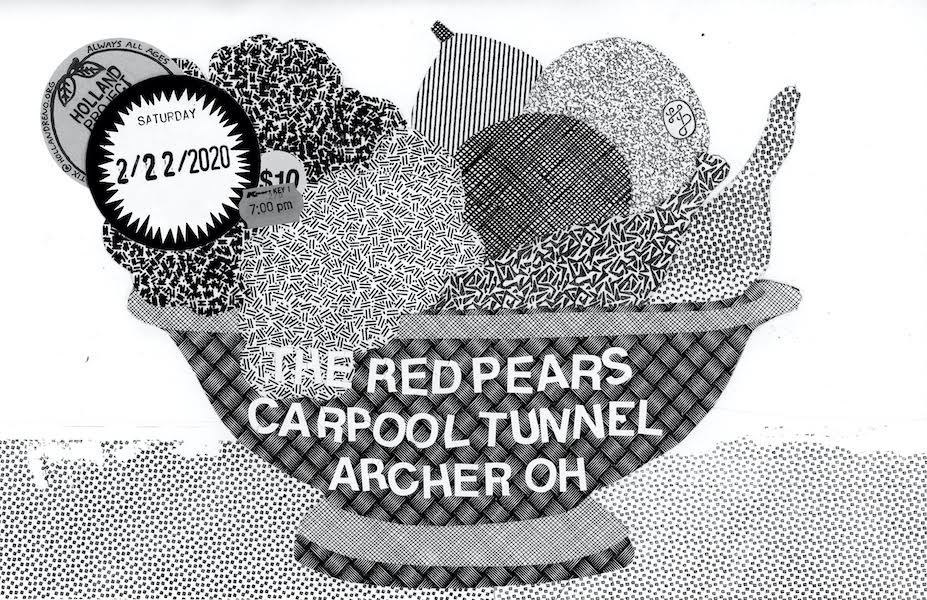 The Red Pears, Carpool Tunnel, Archer OH