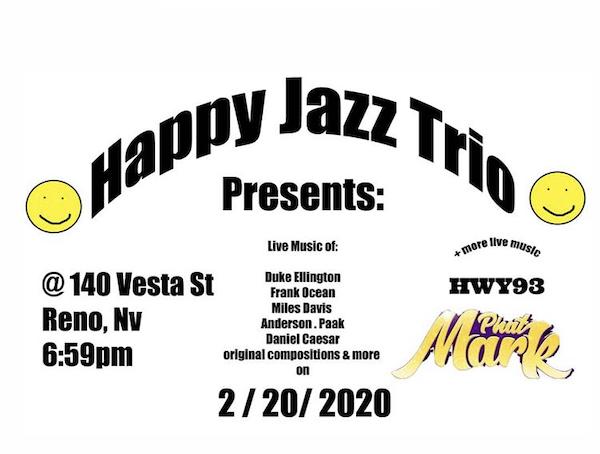 Happy Jazz Trio, Phat Mark, Hwy 93