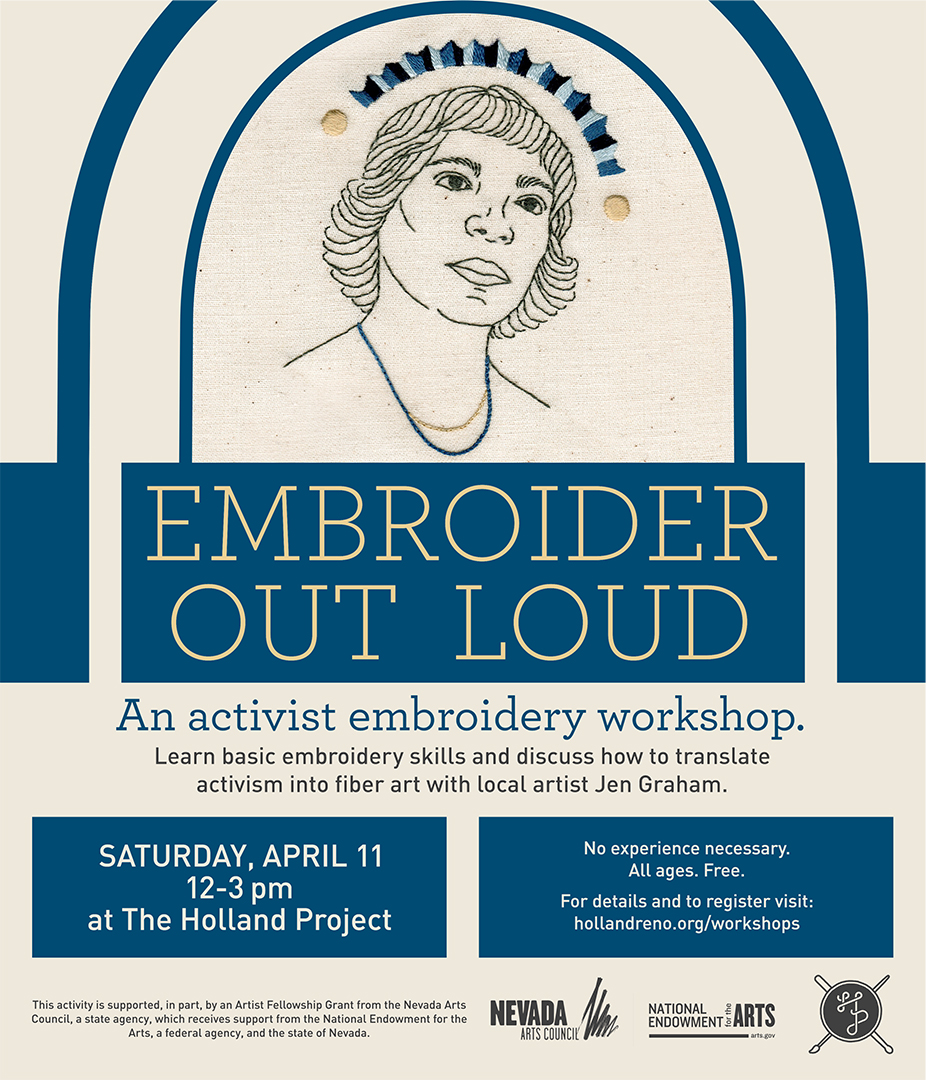POSTPONED: Embroider Out Loud