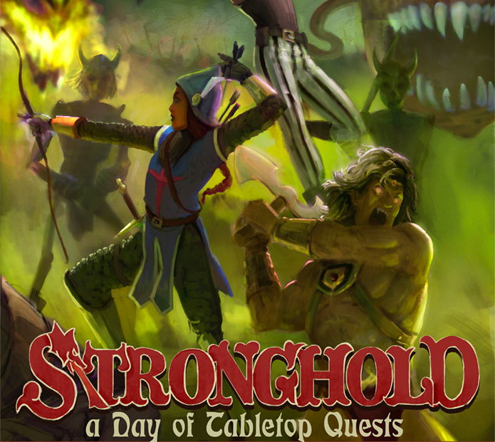 Stronghold: A Day of D&D Quests