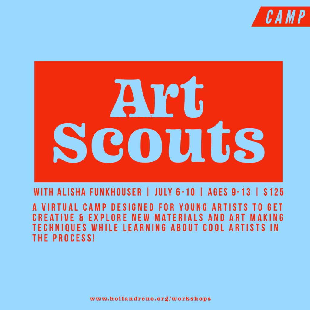 Art Scouts Camp!