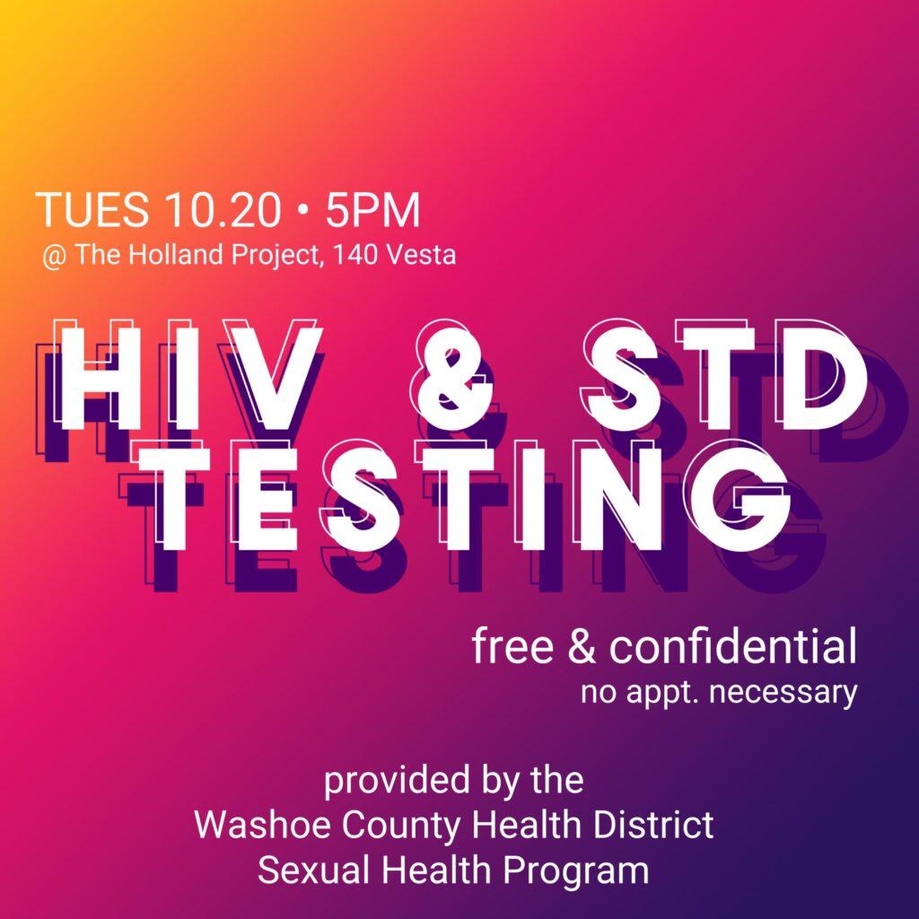 HIV/STD Testing