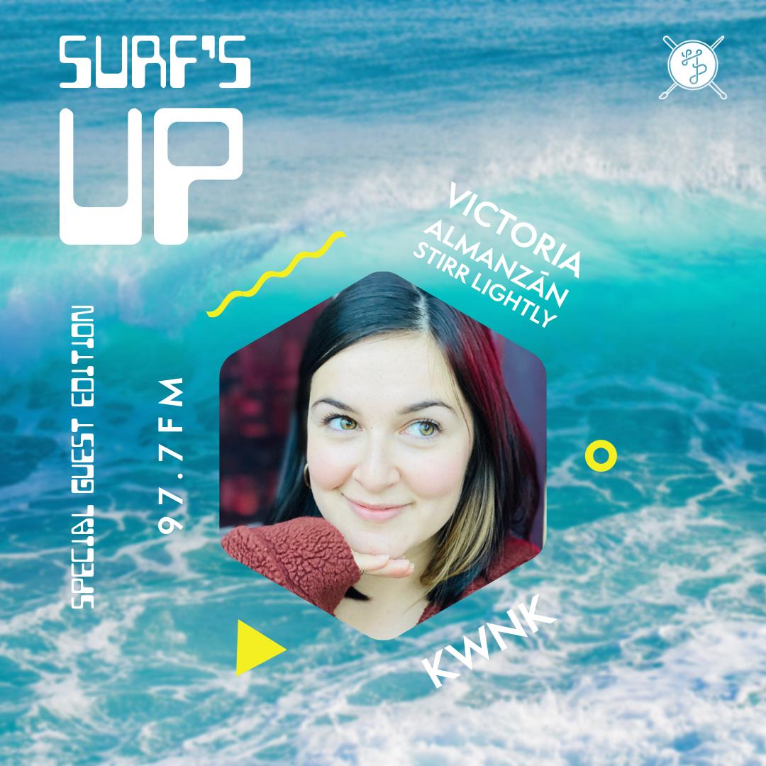 Surfs Up feat Victoria Almanzán (Stirr Lightly)