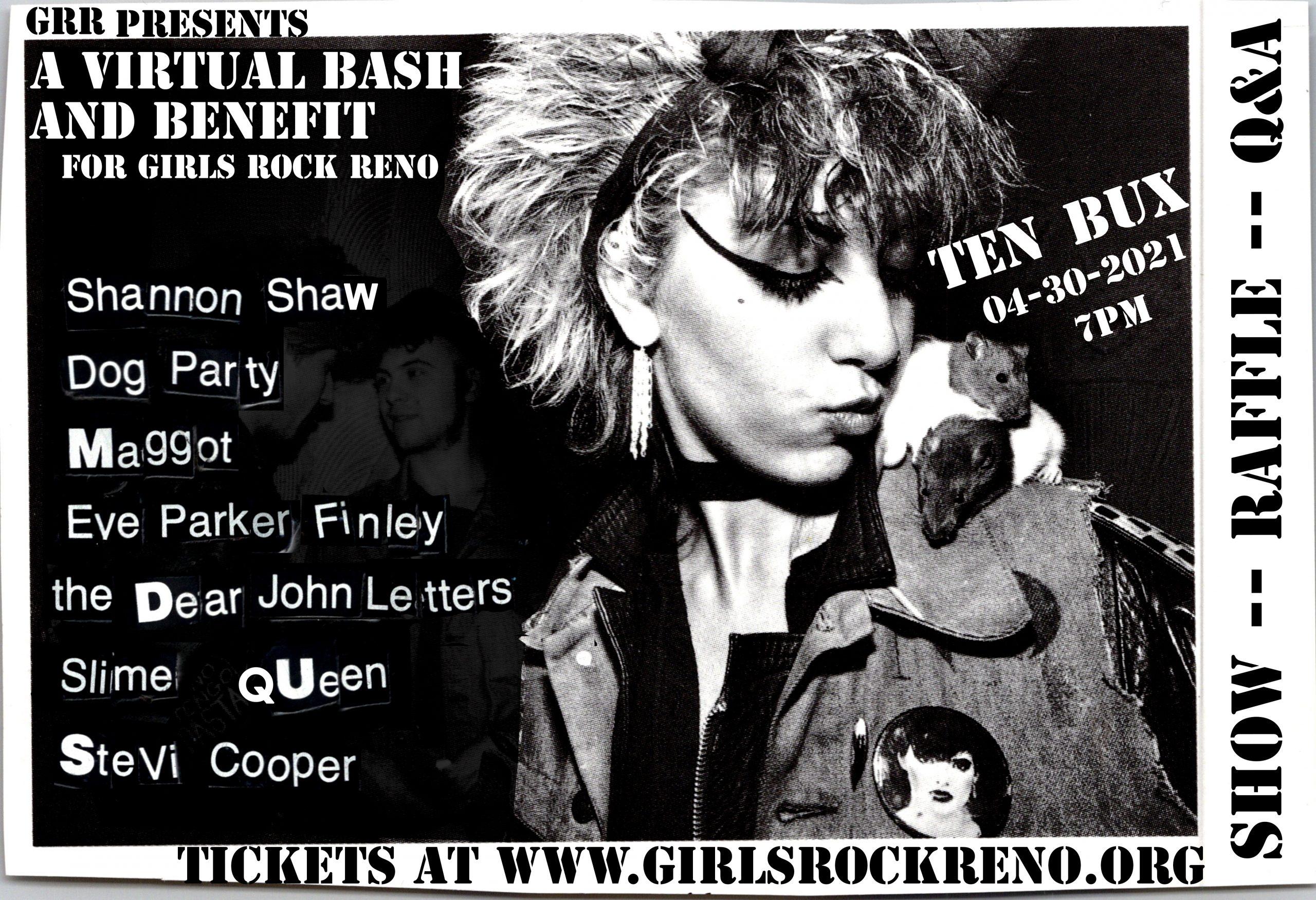 Girls Rock Reno Virtual Bash Fundraiser