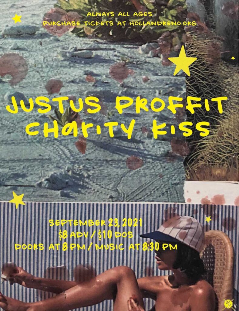 Justus Proffit, Charity Kiss