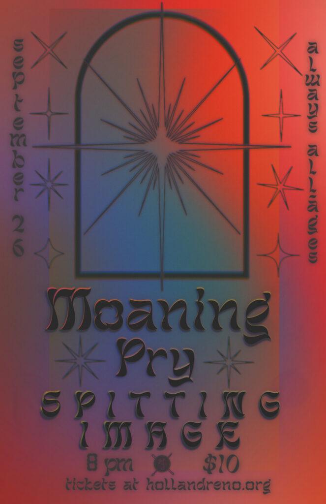 Moaning, Spitting Image, Pry